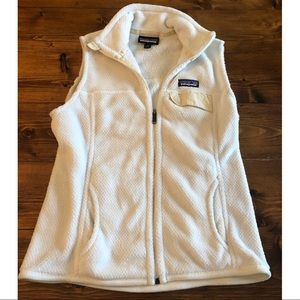 Patagonia Snap T Re-Tool White Vest